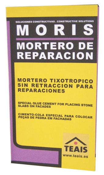 EMPLASTES Y MORTEROS ESPECIALES > Morteros de reparación . MORIS CAPA FINA