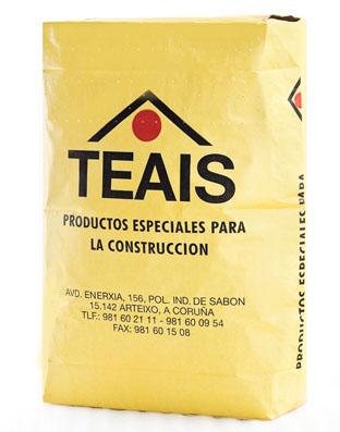 EMPLASTES Y MORTEROS ESPECIALES > Morteros especiales. TEAIS MC