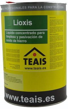 LIMPIADORES > Limpiadores oxido. LIOXIS