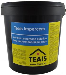 IMPERMEABILIZANTES > Impermeabilizantes cementosos. TEAIS IMPERCEM