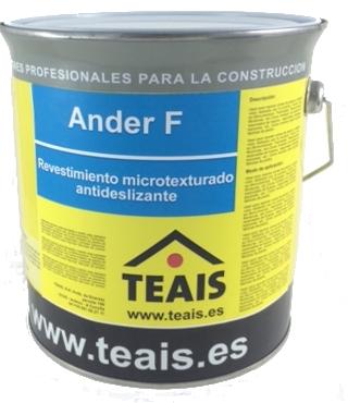 PAVIMENTOS > Tratamientos Antideslizantes. ANDER F