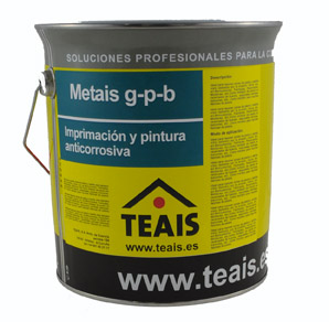 IMPRIMACIONES > Imprimaciones anticorrosivas . METAIS G-P-B