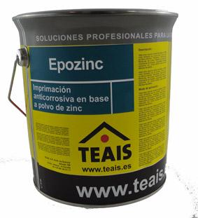 IMPRIMACIONES > Imprimaciones anticorrosivas . EPOZINC