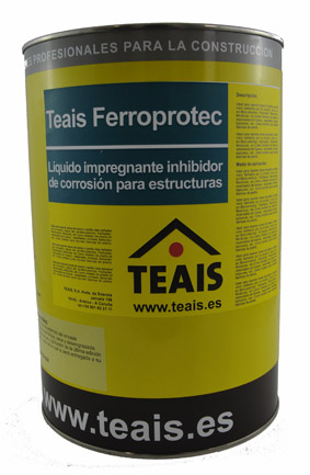 IMPRIMACIONES > Imprimaciones anticorrosivas . TEAIS FERROPROTEC IMPREGNACION