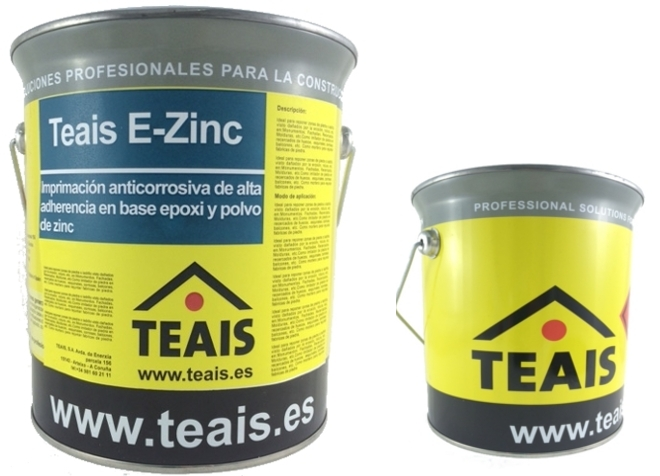 IMPRIMACIONES > Imprimaciones anticorrosivas . TEAIS E-ZINC