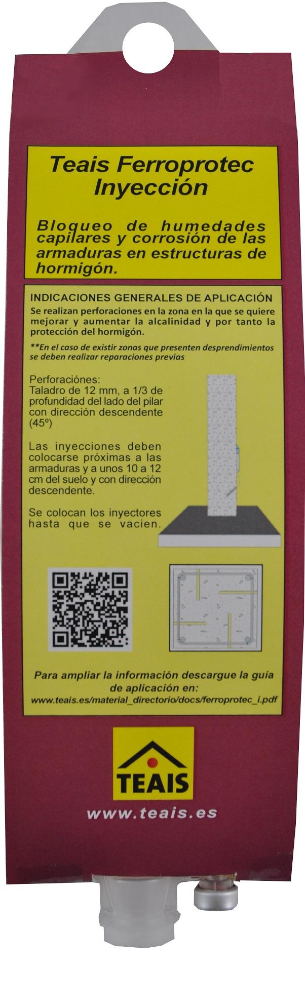 IMPRIMACIONES > Imprimaciones anticorrosivas . TEAIS FERROPROTEC INYECCION