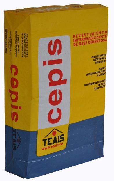 IMPERMEABILIZANTES > Impermeabilizantes cementosos. CEPIS SUPER