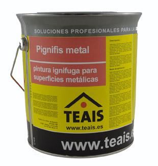 PINTURAS > Pinturas ignifugas . PIGNIFIS METAL
