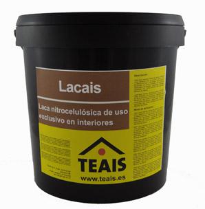 PRODUCTOS PARA LA MADERA > Barnices nitrocelulósicos. LACAIS