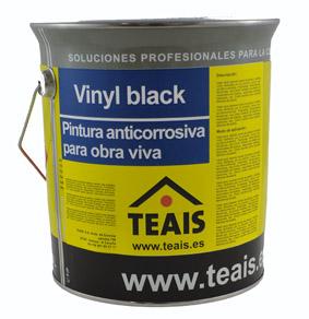 LINEA NAVAL > Imprimaciones anticorrosivas . VINYL BLACK