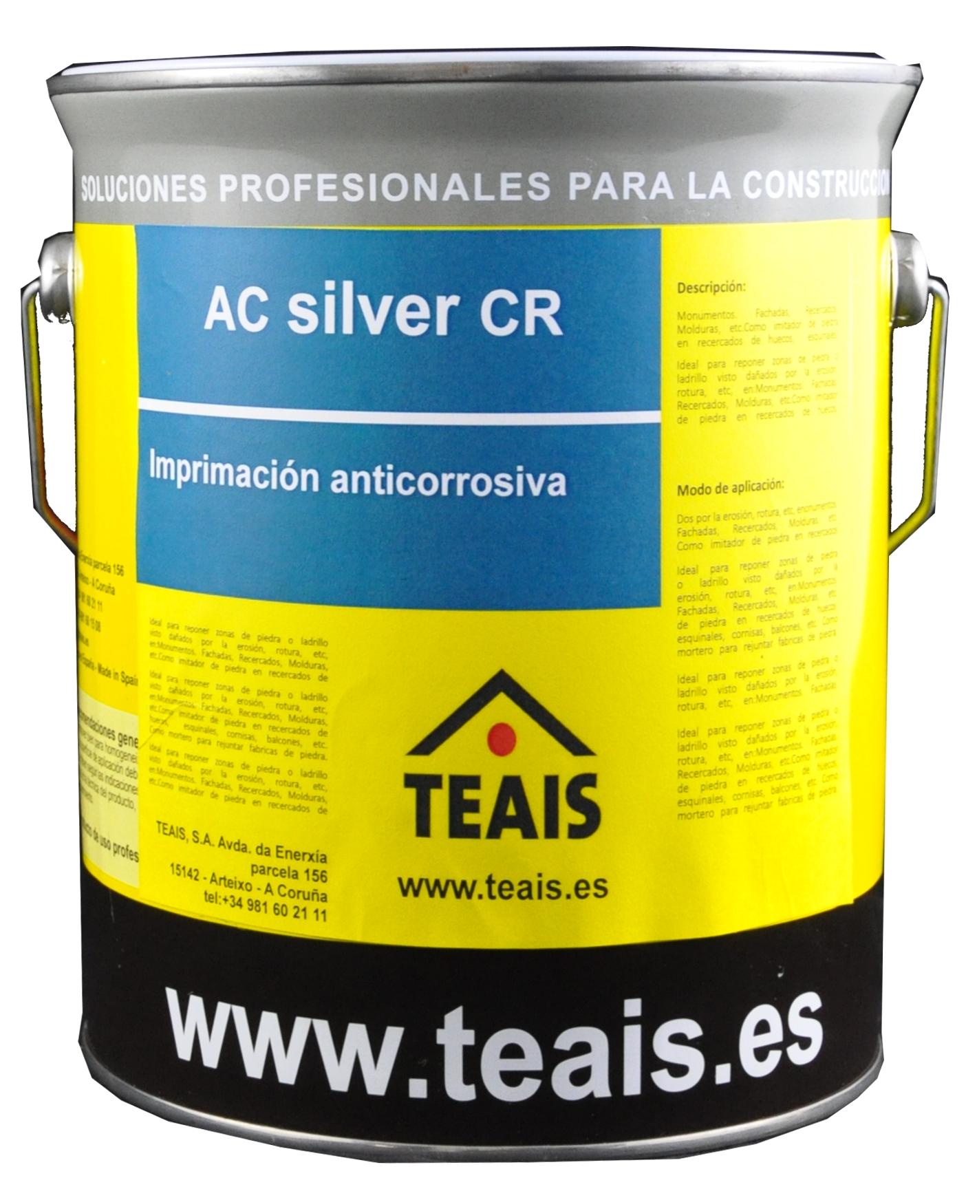 LINEA NAVAL > Imprimaciones anticorrosivas . AC SILVER CR