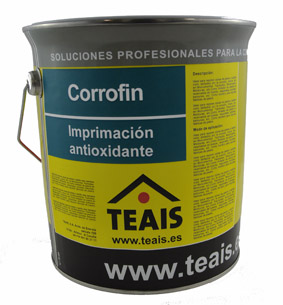 IMPRIMACIONES > Imprimaciones anticorrosivas . CORROFIN